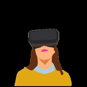 Future Virtual Reality Brille