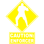 CAUTION: Hockey Enforcer