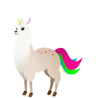 Llamacorn T-Shirt Geschenk Idee Geburtstag Lustig