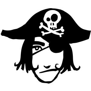 pirat kopf 1c