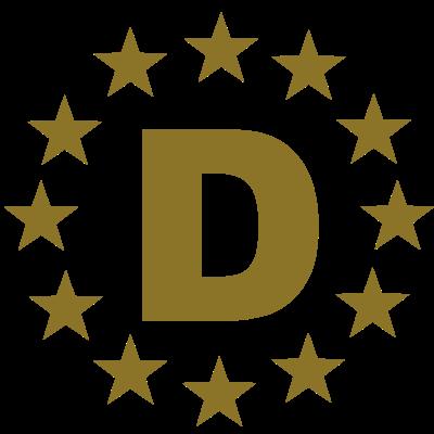 D - Buchstabe - D - Buchstabe - D - Buchstabe