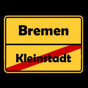 Umzug nach Bremen! Ortsschild Design.