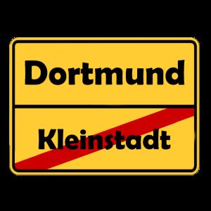 Umzug nach Dortmund! Ortsschild Design.