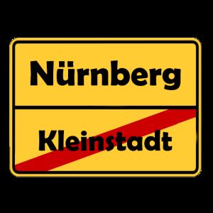 Umzug nach Nürnberg! Ortsschild Design.