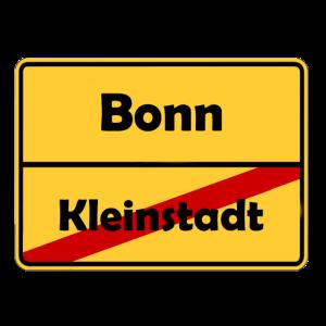 Umzug nach Bonn! Ortsschild Design.