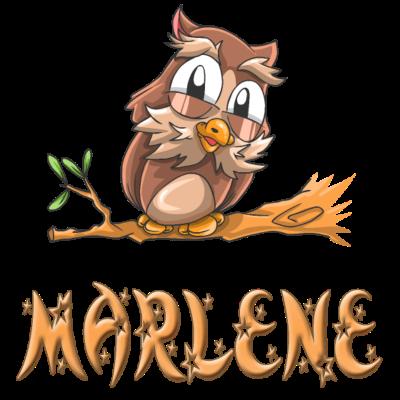 Eule Marlene - Marlene Eulen Design für Marlene. - Marlene süss,Marlene Geschenke,Marlene Geschenk,Marlene Geburtstagsgeschenk,Marlene Geburtstag,Marlene Geburt,Marlene Eulen,Marlene Eule,Marlene