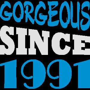 Gorgeous since 1991