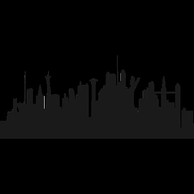 Zukunft Skyline - Zukunft Skyline irreale Welt - irreal,Zukunft,Stadt,Skyline