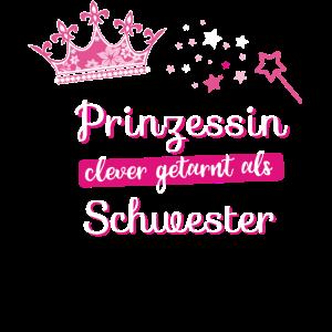 Schwester Prinzessin beste Krone fee pink Zauber
