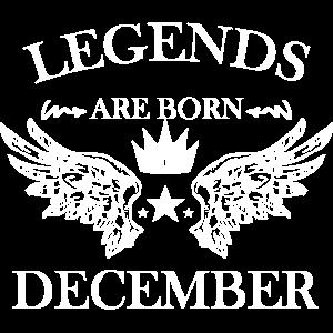 Geburtstag Dezember Geschenk Legenden Geburt