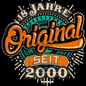 Original 18 Jahre seit 2000