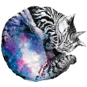 Galaxy Einkornkatze klein