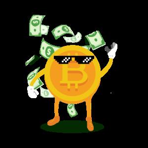 Coin like a boss - Bitcoin Geschenk