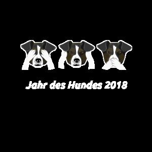 Jahr des Hundes 2018 Hundehalter Geschenk