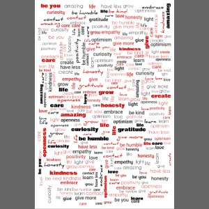 Word Cluster Red