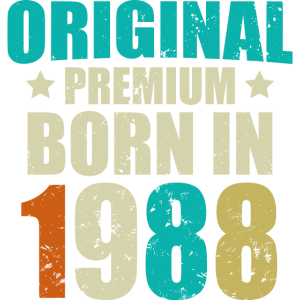 1988 Original Birthday Year
