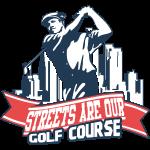 Vintage Golfer Mann