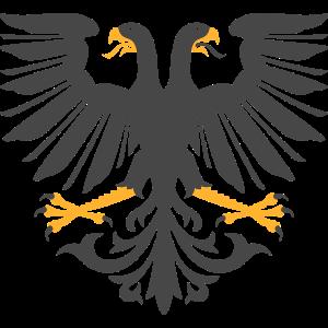 Adler mit zwei Köpfen