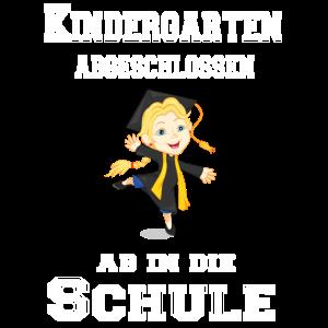 Kindergarten abgeschlossen, ab in die Schule