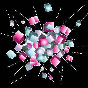cube chaos - Würfel Explosion, Party und Festival