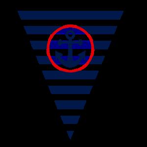 Flagge,Anker, maritim