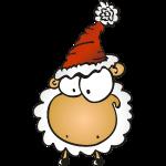 Weihnachts Schaf