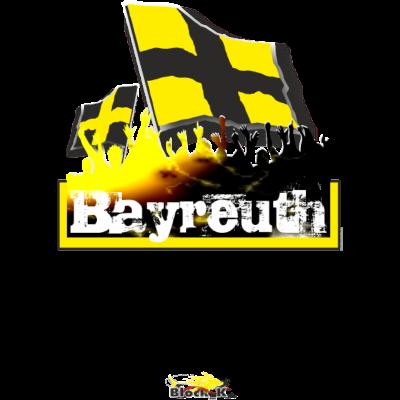 bayreuth - bayreuth Fanshirt / Städteshirt - www.blockkontrolle.de - stadt,mob,fussball,flagday,feiern,fans,arena,Ultras,Städte,Stimmung,Stadion,Jubel,Flagge,Fanshirt,Fanblock,Fan,Fahne,Bayreuth
