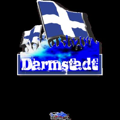 darmstadt - Darmstadt Fanshirt / Städteshirt - stadt,fussball,flagday,fans,fahnentag,arena,Ultras,Städteshirt,Stadion,Flagge,Fanshirt,Fankurve,Fan,Fahne,Darmstadt