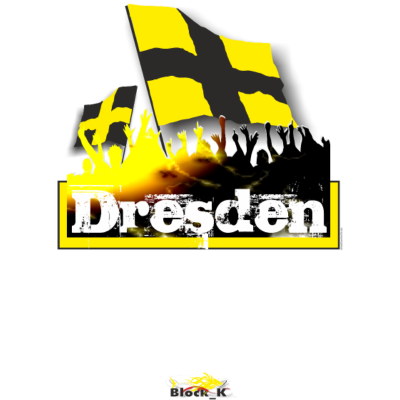 dresden - Dresden Fanshirt / Städteshirt - stadt,flagday,fans,fahnentag,arena,Ultras,Städte,Stadion,Flagge,Fanshirt,Fankurve,Fan,Fahne,Dresden