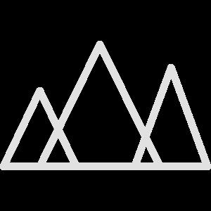 Berge minimalistisch