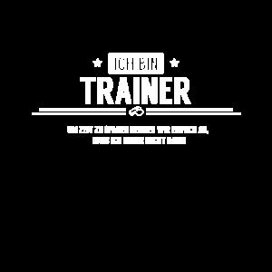 Ich bin Trainer! Tätig als Trainer
