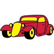 3 colors - Hot Rod Oldtimer Custom Cars Automobil Tuning