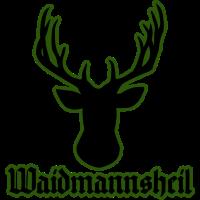 Waidmannsheil Hirsch Jagd Geschenkidee