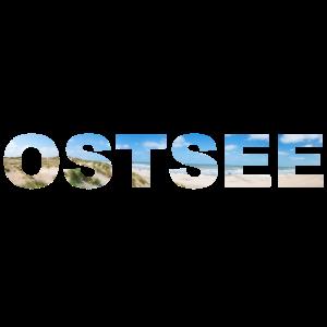 Ostsee Schriftzug Panorama