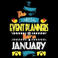 Die besten Event-Planer werden im Januar als Geschenkidee geboren