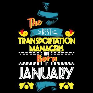 Die besten Transportmanager werden im Januar geboren