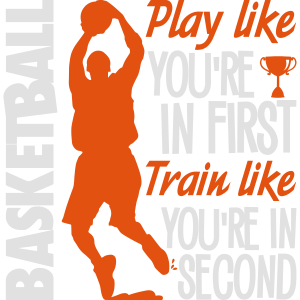 Basketball play like you're in first