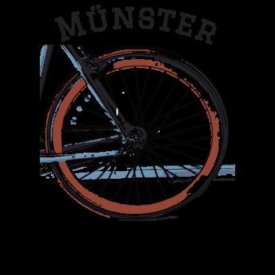 I bike Münster Shirt - I bike Münster T-Shirt für Männer und Frauen - gesund,sport,münster,fahrradhauptstadt münster,radfahrfreundlich,Rad,umwelt,Radfahrer,ich liebe radfahren,rennrad,Radfahren,Bike,Grüne revolution,no gas,öko,Mobilität,rad,Räder,radsport,gesundheit,I bike Münster,bio,münsterland,Umweltschutz,fahrrad