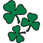 2 colors - Kleeblatt Irland Sankt Patricks Day Shamrock Ireland Saint