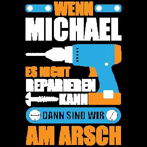 Michael reparieren Bohrmaschine Geschenk