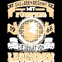 50 50. Geburtstag Geschenk Legende Drachen 1968 DE