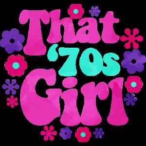 Das 70er Mädchen die '70s Girl