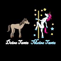 Einhorn Pferd Meine Tante Geschenk