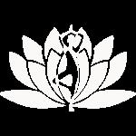 Lotus vrouw silhouet