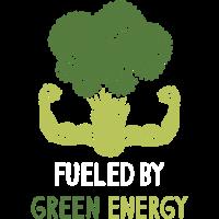 Vegan Vegetarier fueled by grüner Energie Geschenk