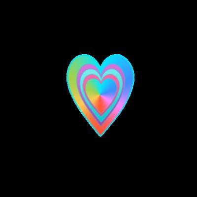 rainbow heart -  - rainbow herat,present,i love,bunte Herten,lieb,geschenk,Regenbogen,hertz,rainbow,gift,Heart