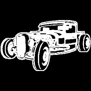 Hot Rod / Rad Rod 06_weiß