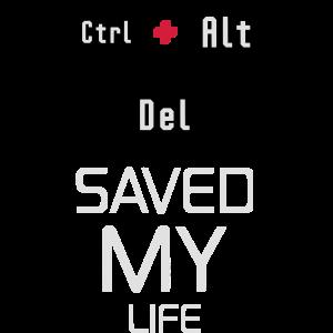 STRG ALT ENT / CTRL ALT DEL - SAVED MY LIFE