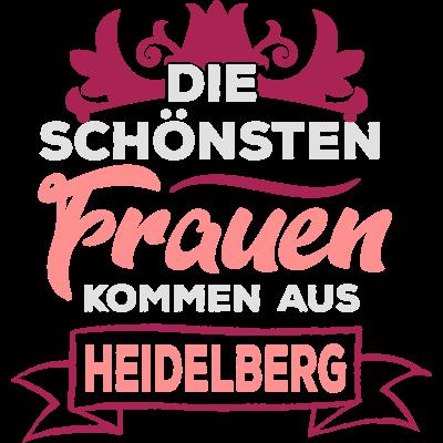 Die schönsten Frauen kommen aus Heidelberg - Die schönsten Frauen kommen nun mal aus Heidelberg! Jeder der was anderes behauptet hat keine Ahnung, oder? Hol dir jetzt dein Städte-Motiv auf ein beliebiges Produkt deiner Wahl. - uni,städte,stadt,schöne,kommen aus,ich liebe,i love,gang,deutschland,crew,city,cities,bff,Schönsten,Mädels,JGA,Heidelbergerinnen,Heidelbergerin,Heidelberger,Heidelberg,Girls,Frauen,Campus