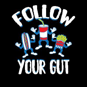 Folgen Sie Ihrem Gut Junk Food Gift